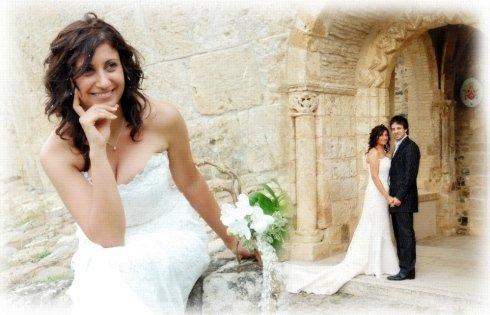 Servizio fotografico agli sposi