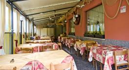 veranda della pizzeria