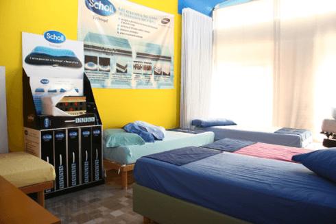Vieni a scoprire presso il nostro negozio gli innovativi materassi Scholl, ideali per dormire in modo sano.