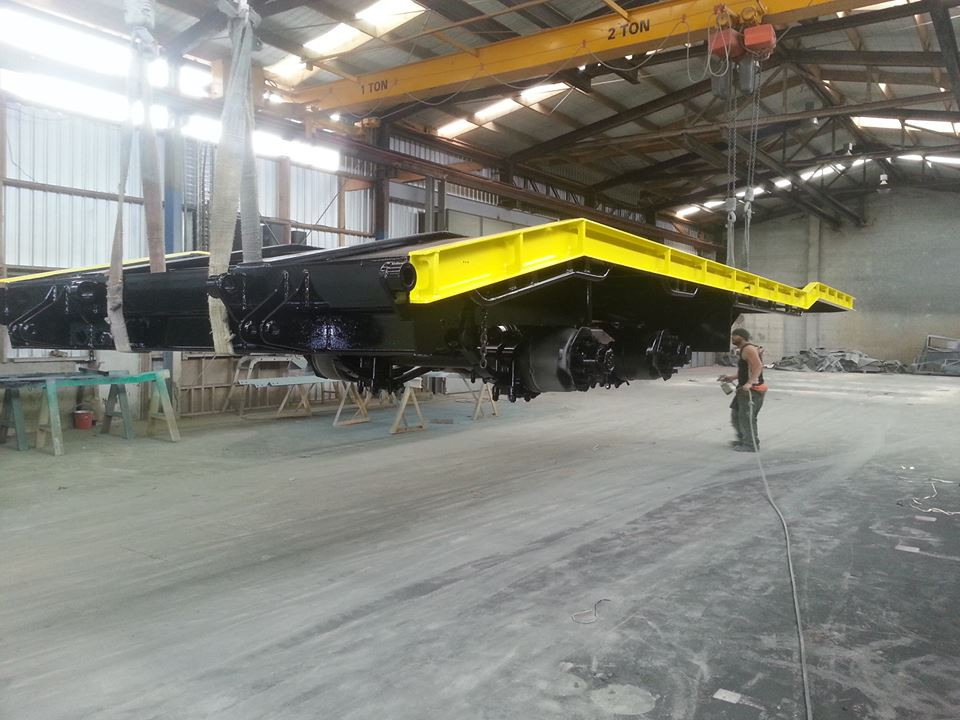 Transport blasting and coating services