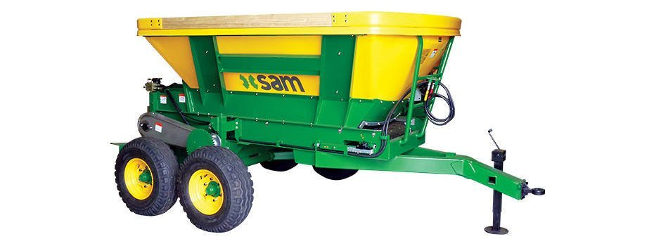 Farm equipment for sandblasting services