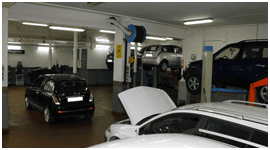 riparazione auto a noleggio