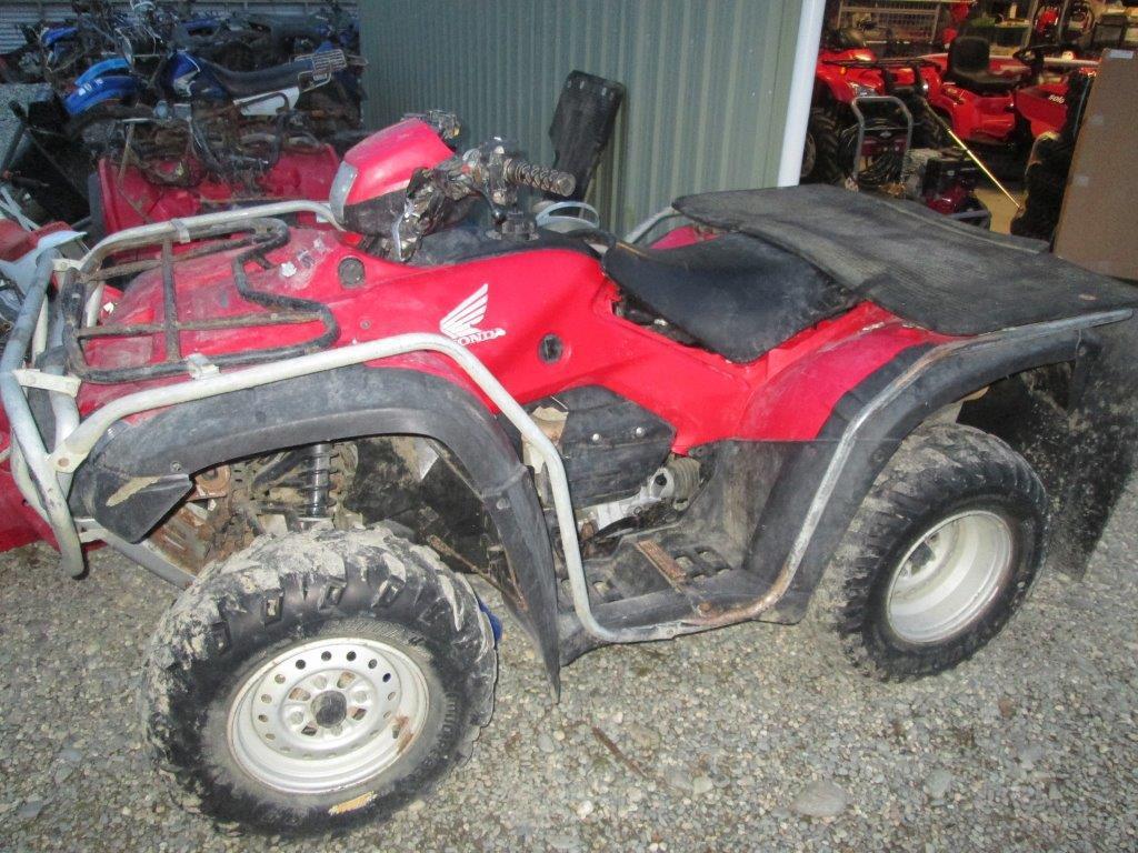 Honda TRX500 Electric start wreck