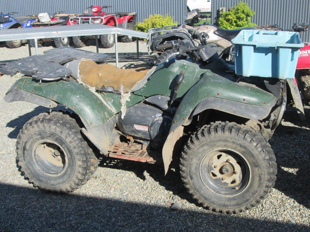 Kawasaki KVF400 wreck