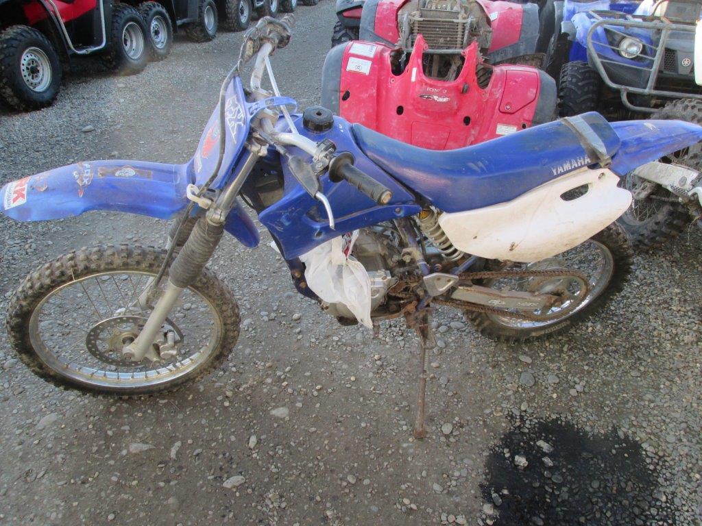 Yamaha TTR125 wreck