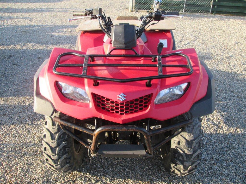 Suzuki KG 400 2009 wreck
