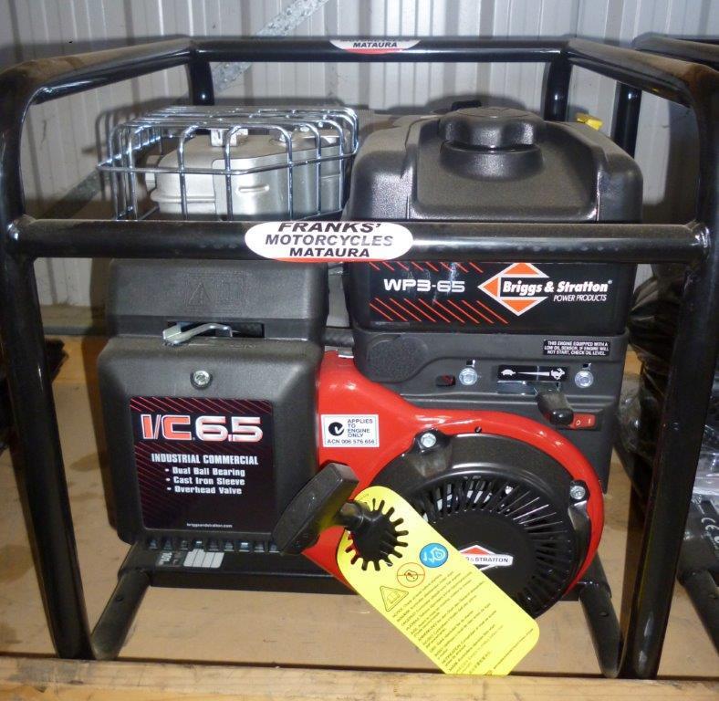 Briggs & stratton water pump