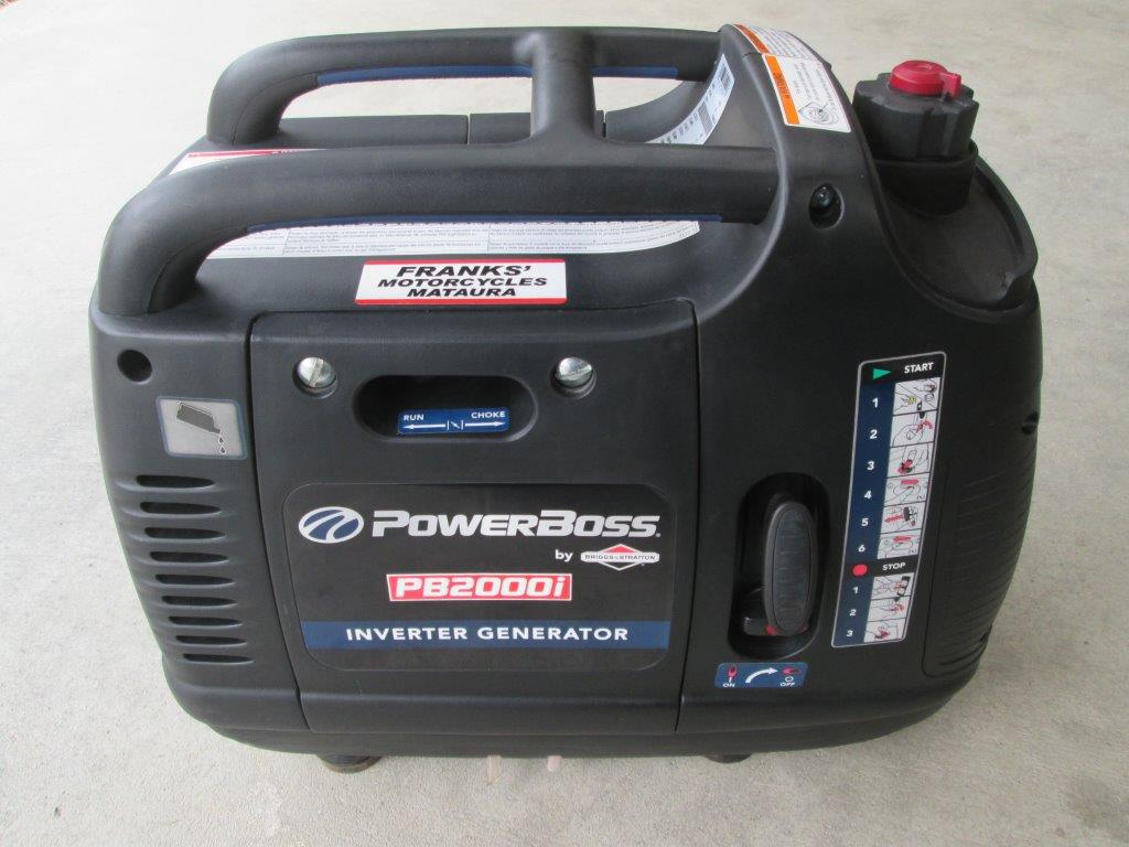 Inverter generator powerboss PB2000i