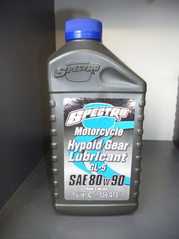 Spectro for motorcycle engine lubricant.