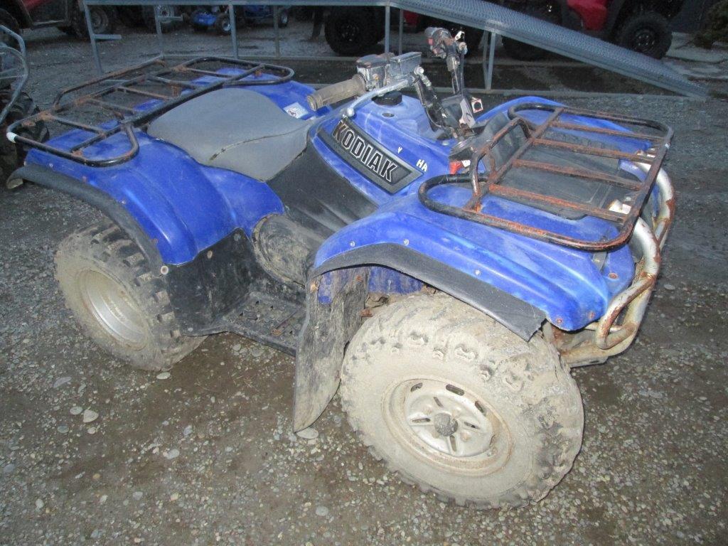 Yamaha YFM400 2002 wreck