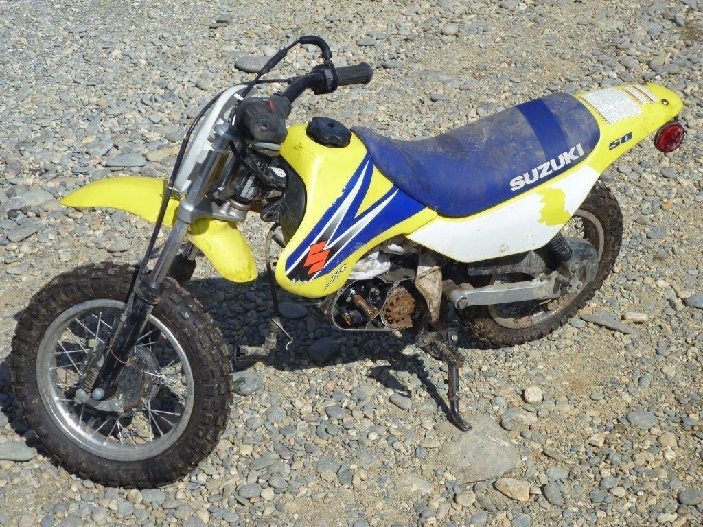 Suzuki JR50 wreck