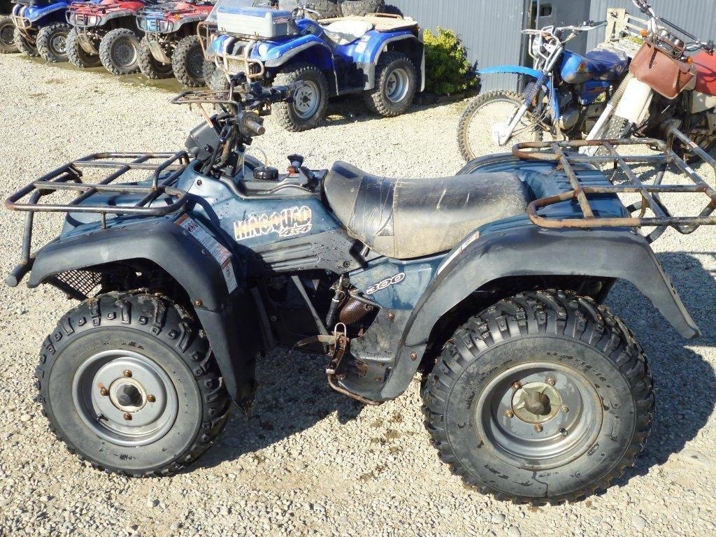Suzuki LTF300 KQ wreck
