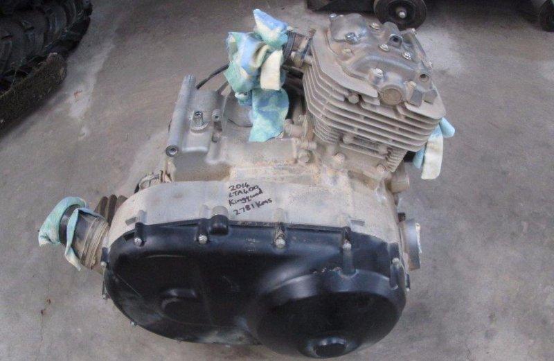 2014 Suzuki LTA400 Engine
