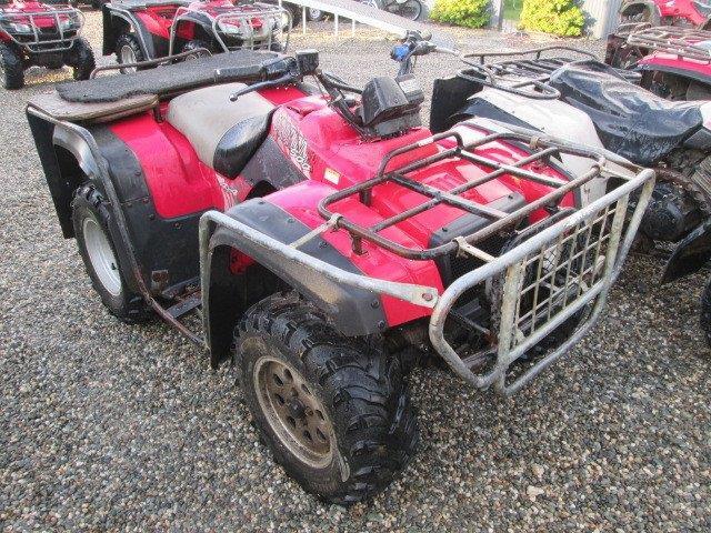 1999 Suzuki LTF500 wreck