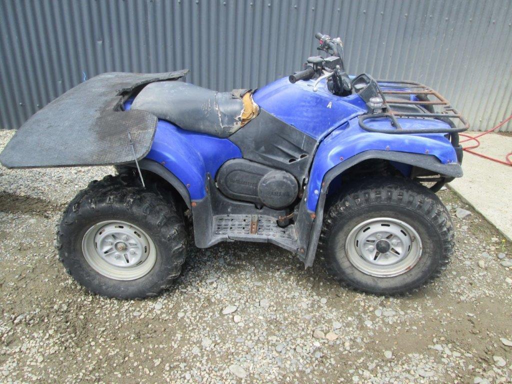 Yamaha YFM400 2006 wreck
