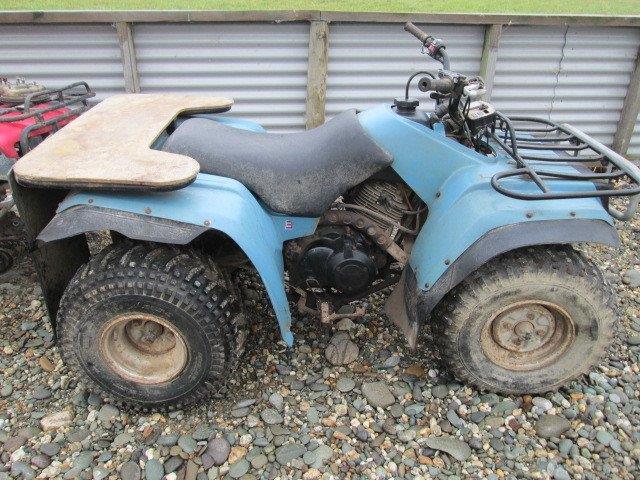 Yamaha YFM350 Moto wreck