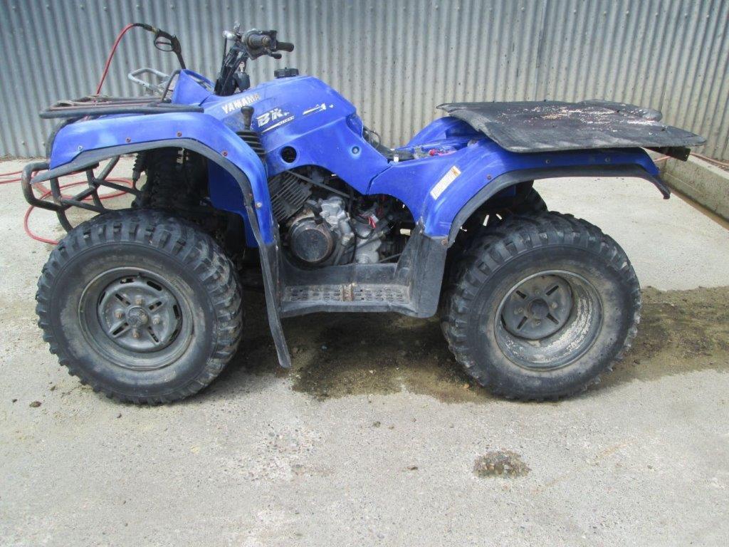 2005 Yamaha YFM350 Bruin wreck