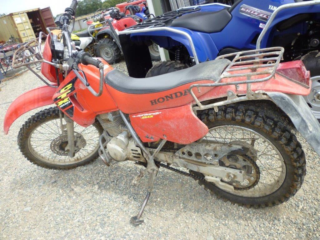Honda CTX200 wreck