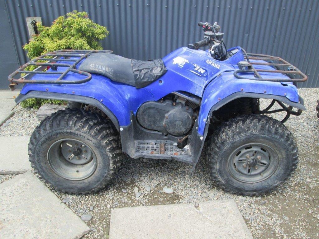 Yamaha YFM350 Bruin wreck