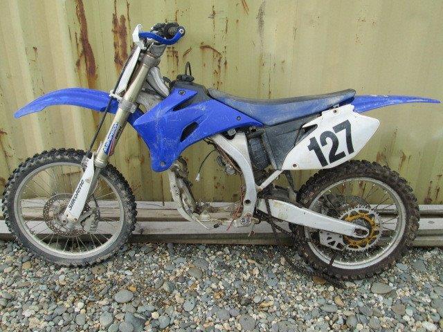 Yamaha YZF250 2006 wreck