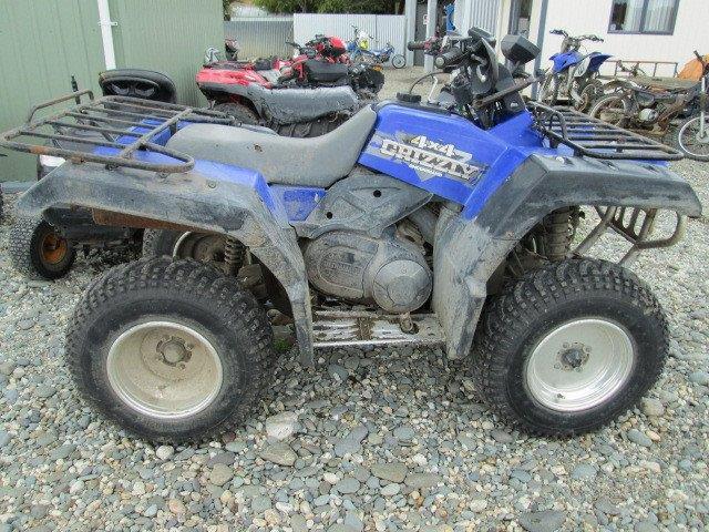 Yamaha YFM600 Griz 1999 wreck
