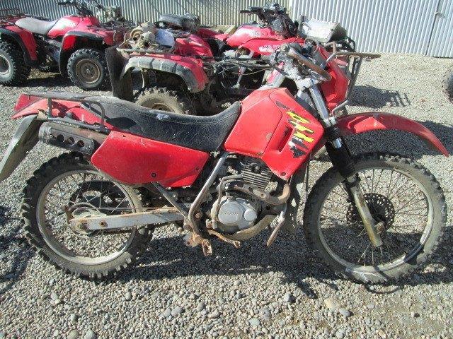 Honda_CTX200 motorcycle