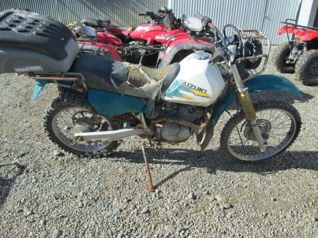 Suzuki DR200 wreck