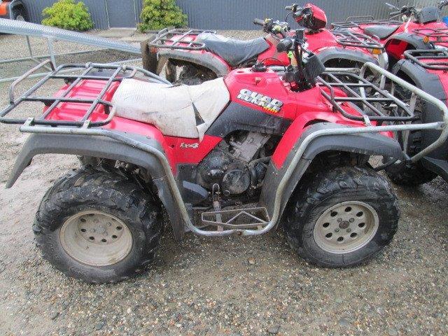 Suzuki LTF500 QuadRunner wreck
