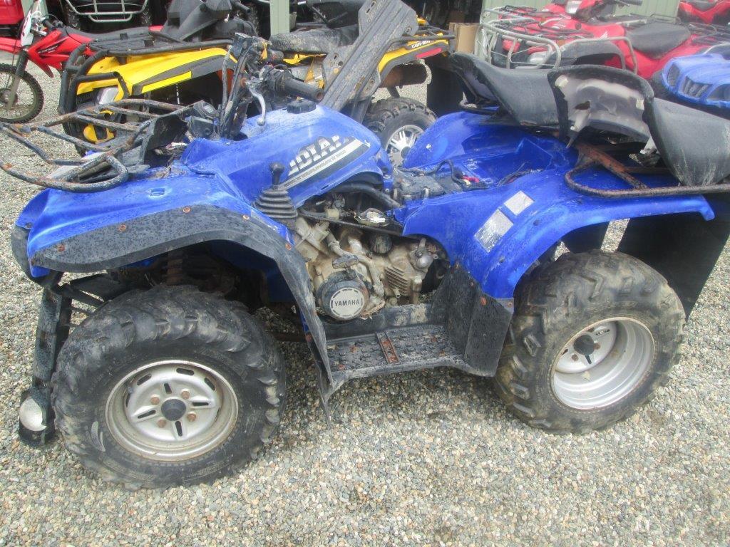 Yamaha YFM400 wreck