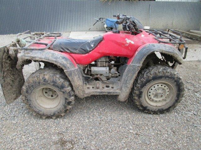 Honda TRX350 TM 2005 wreck