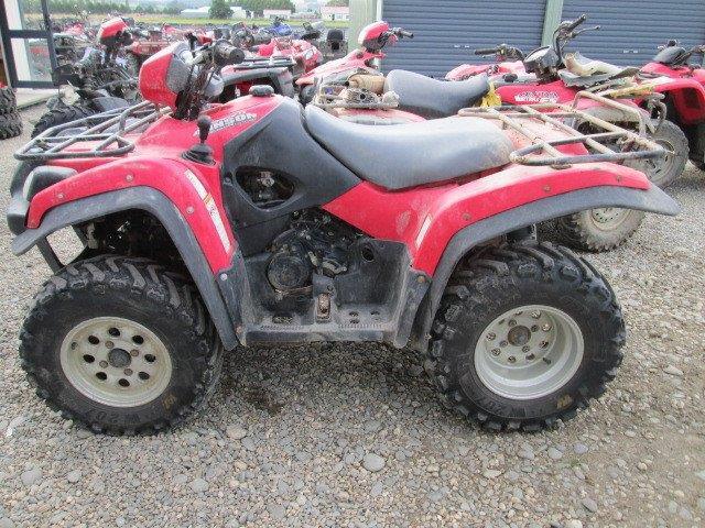 Suzuki Vinson LTF500 Man 2006 wreck