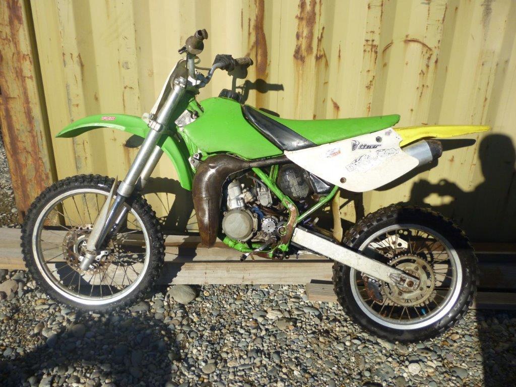 Kawasaki KX80 2000 wreck