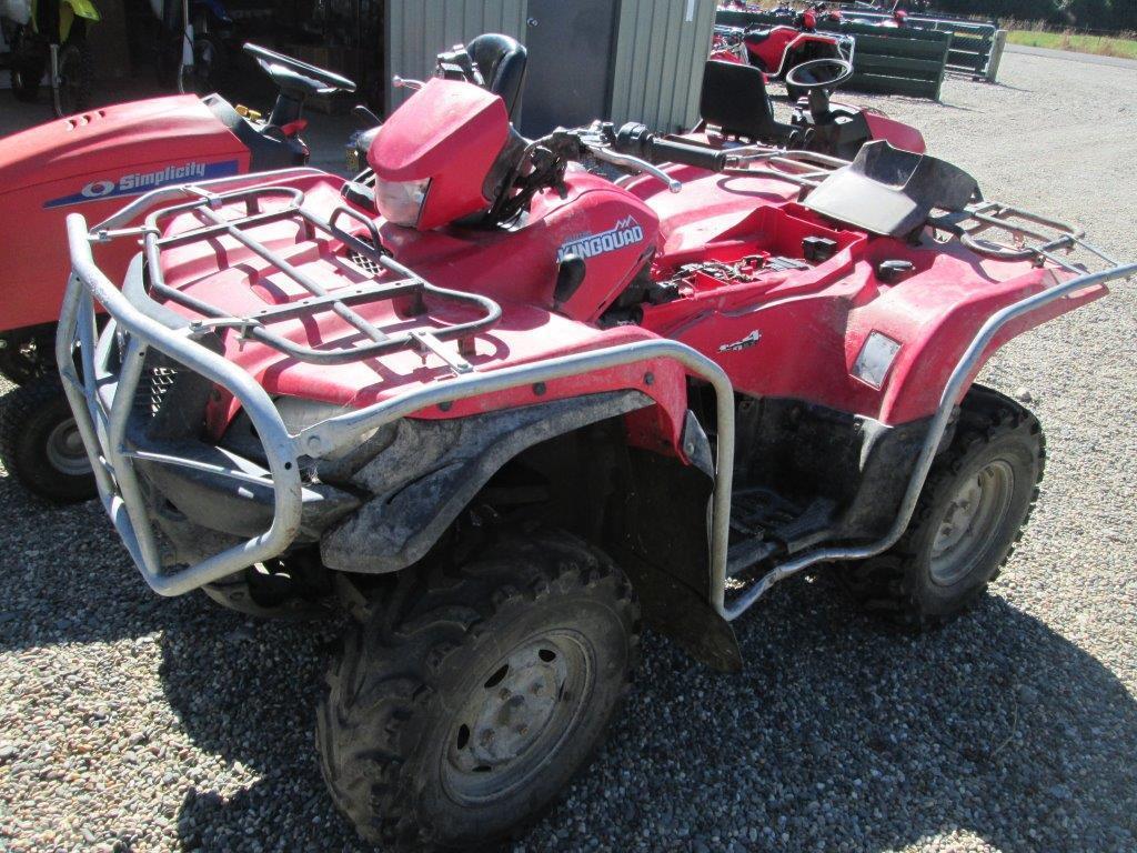 Suzuki 2008 LTA wreck