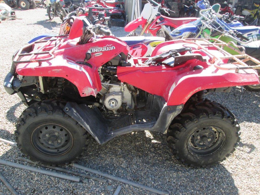 Suzuki 2009 LTA450 wreck