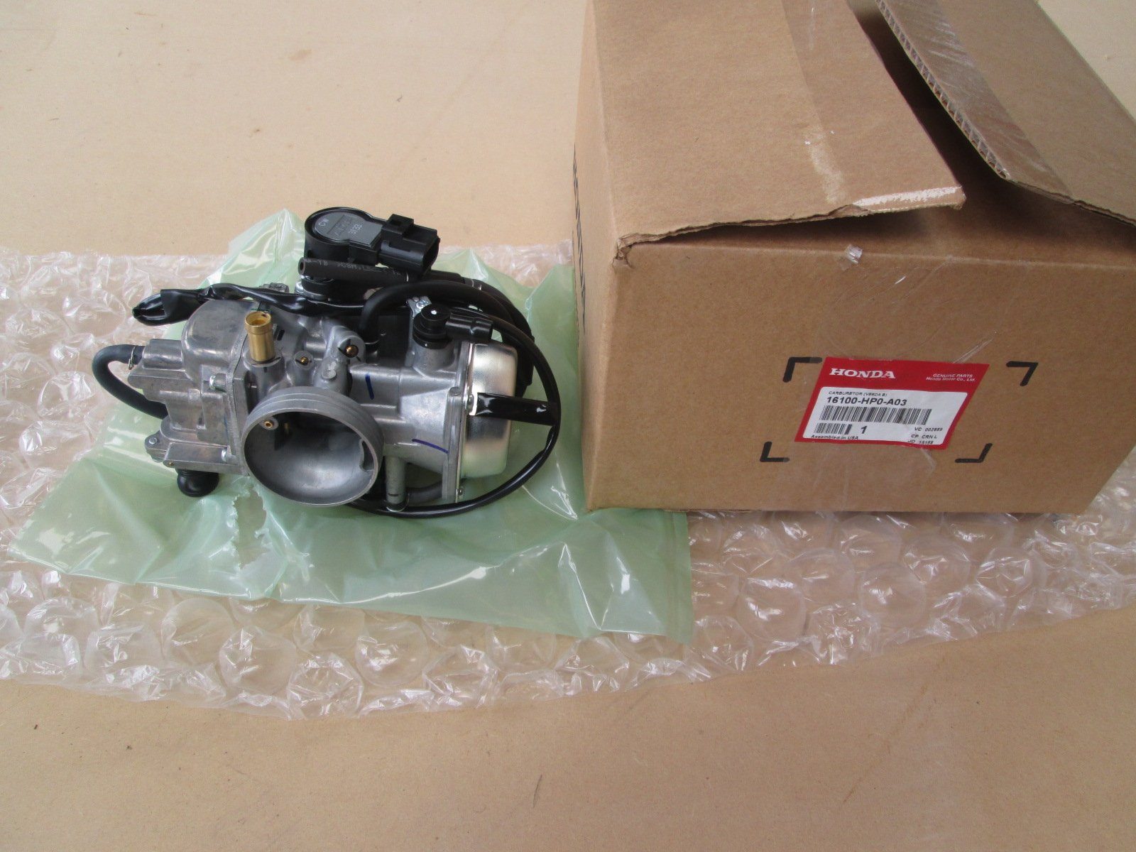 Genuine Honda 2005-2011Complete Carburetor16100-HP0-A03
