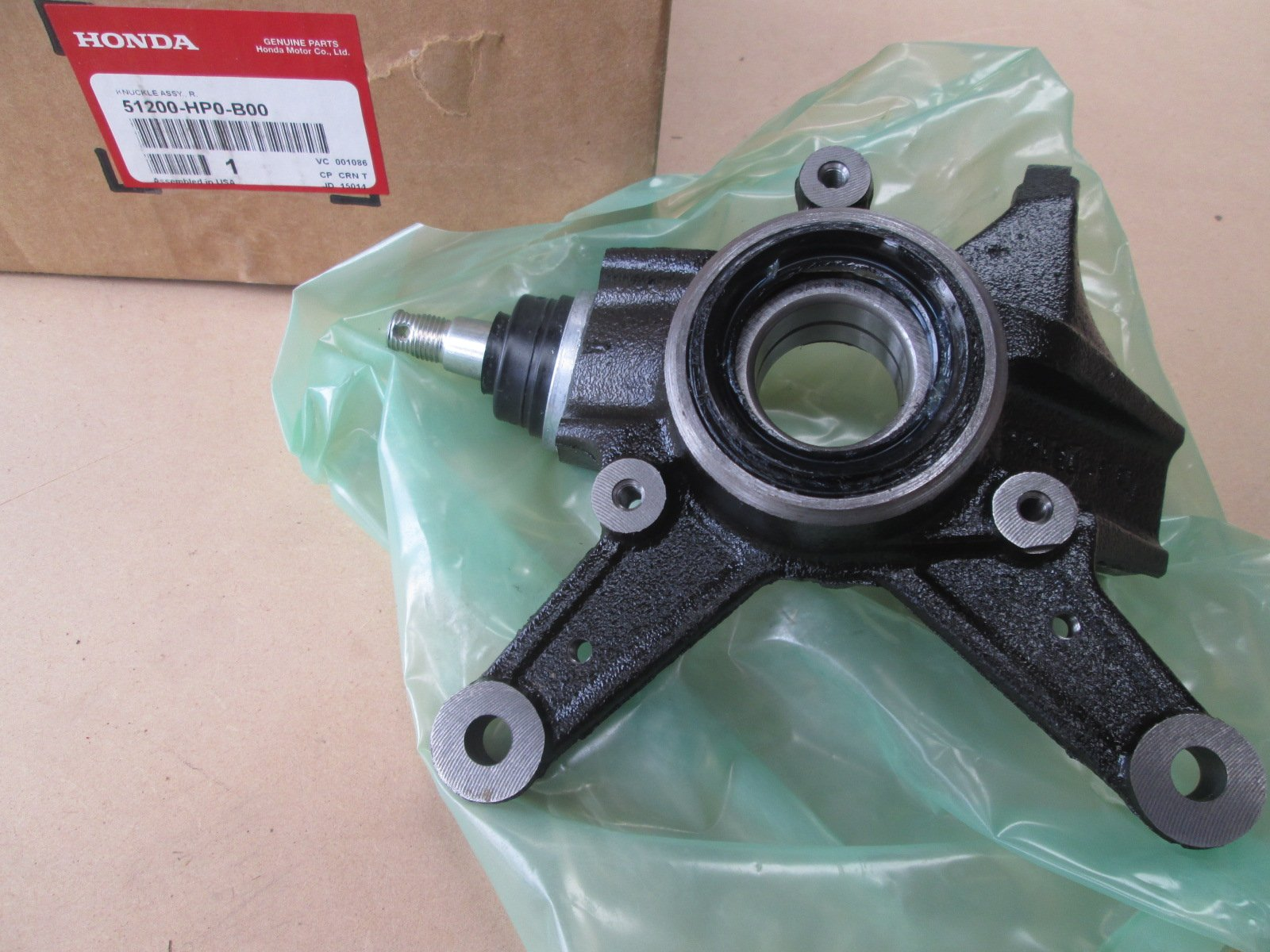 Front Wheel Bearing