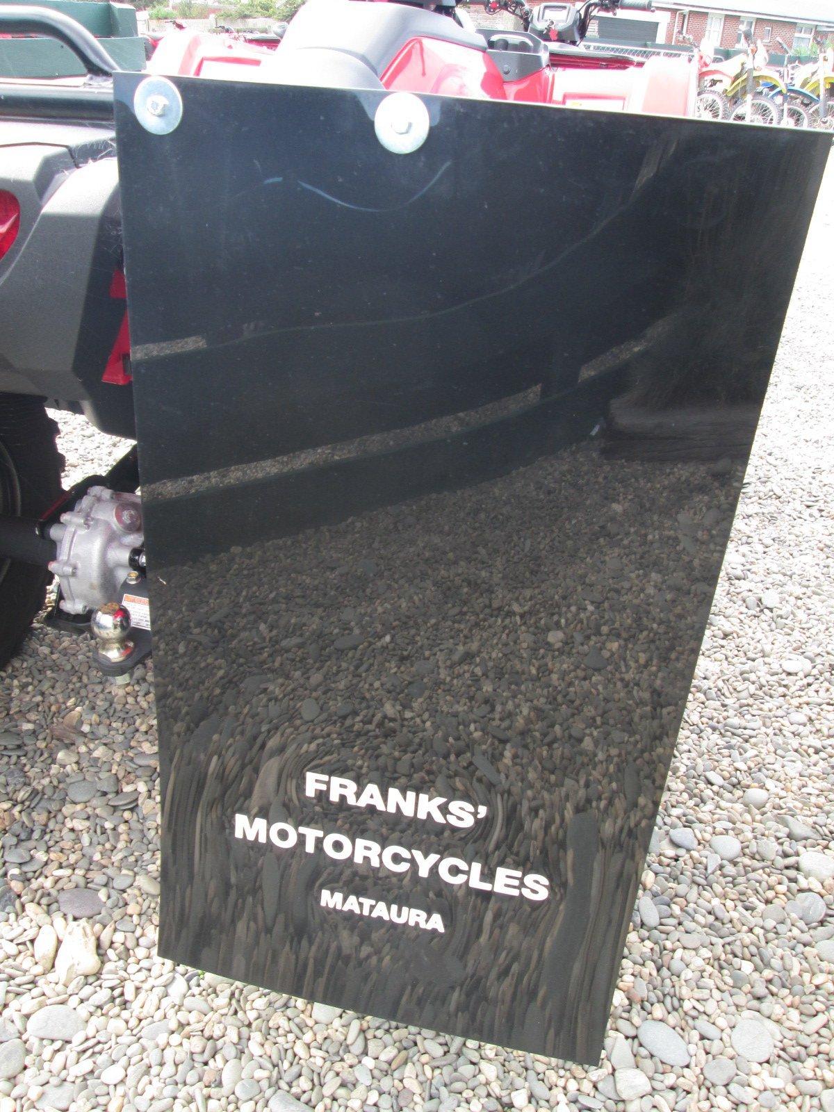 Franks' Motorcycles Mudflap