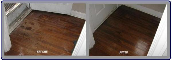 how to clean hardwood floors after construction