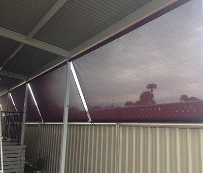 elegant blinds and awnings red coloured awnings