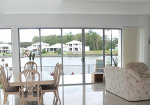 elegant blinds and awnings glass panels glides