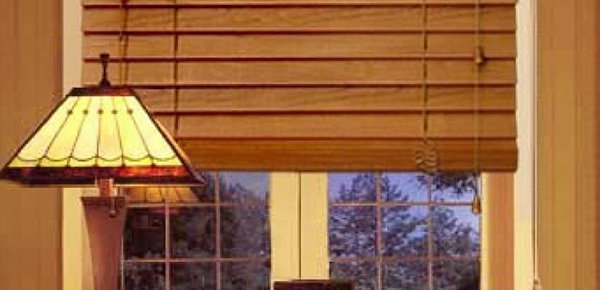 elegant blinds and awnings timber Venetian blinds with lamp