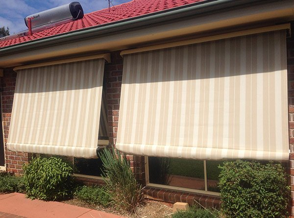 elegant blinds and awnings auto roll up awnings in outlook