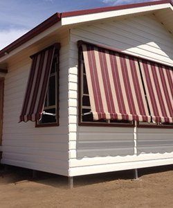 elegant blinds and awnings striped awnings