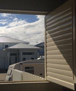 elegant blinds and awnings bi folding aluminium shutters