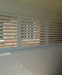 elegant blinds and awnings full powder coated aluminium shutters
