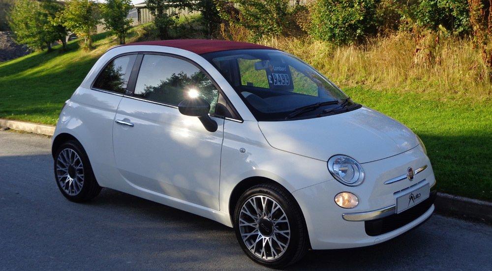 Fiat 500 C Pop front view
