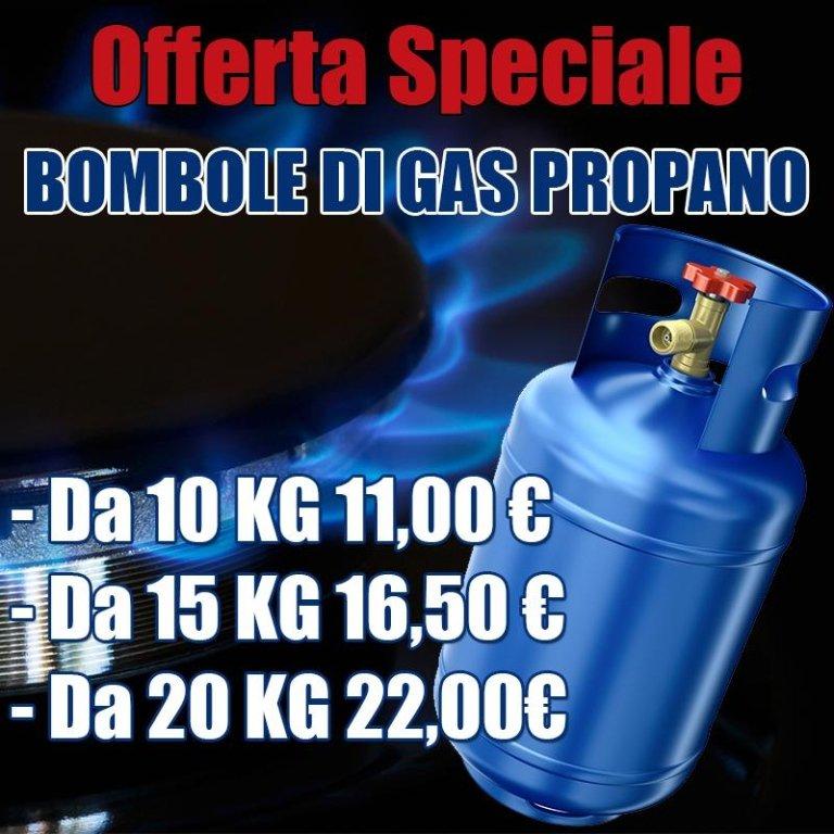 offerta bombole di gas propano