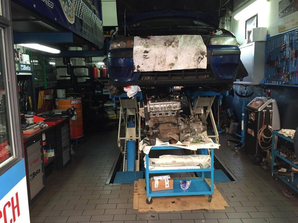 revisione motore