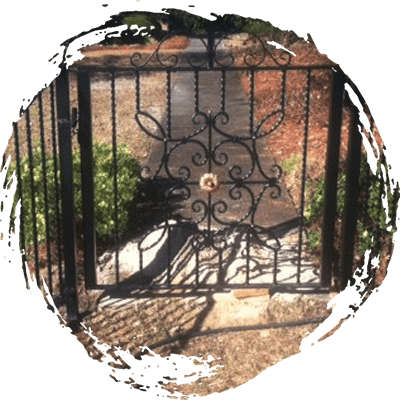 Outdoor Wrought Iron Fence in Columbia SC