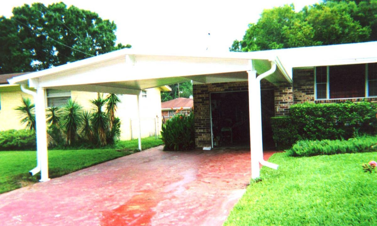 Carports southern home addition inc jacksonville fl for Carport additions